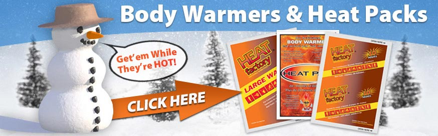 Body Warmers and Heat Packs
