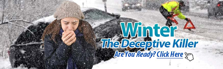 Severe Weather Winter Preparedness Safety Tips