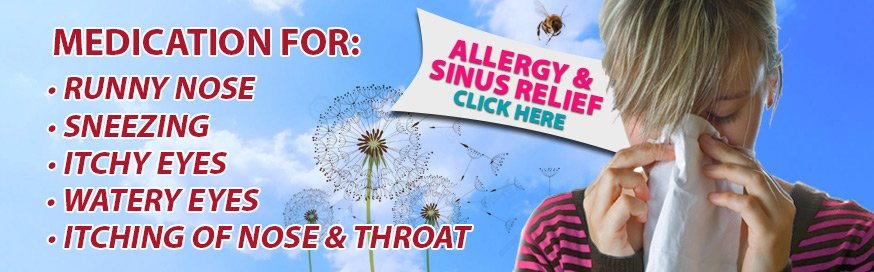 Allergy, Cough, Cold, and Sinus Relief