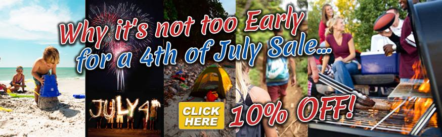 Summer Ready Early 4th of July Sale