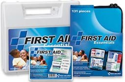 First Aid and First Aid Kits for the home, auto, pet, sports, outdooor, and More. Everything you need as a consumer or small business for safety and first aid needs! Home First Aid Kit, Auto First Aid Kit, Kids First Aid Kit, Outdoor First Aid Kit, Camping First Aid Kit, Sport First Aid Kit, Pet First Aid Kit and More. Our hard plastic first aid kits and soft pack first aid kits have just the first aid needs you will require for general first aid wound treatment and emergency needs. Our Soft sided first aid bags have convenient new