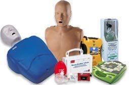 Producto, Suministro y Equipo de RCP incluyendo Maniquíes, Mascaras, Botiquines, bolsas de pulmón y más! DEA, Baterías, Entrenadores, Partes, Almohadillas y Accesorias para DEA