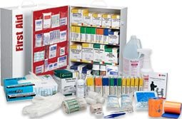 Business First Aid, First Aid Kits, First Aid Cabinet, First Aid Stations, First Aid Supply, and First Aid Safety. First Aid Product is THE online source for discount first aid kit shopping and supplies! OSHA First Aid Kits / ANSI First Aid Kits and products at a discount online! First Aid Product.com specializes in first aid kits and supplies. Our goal is simple: offer the most complete, highest value line in the industry to families and businesses. Whether you are looking for a simple first aid kit to keep in your glove compartment or for a complete first aid cabinet to service your factory floor, you can be sure that First Aid Product.com has something that will suit your needs. This site will provide you with information on our entire line of products as well as helpful information for you including guidelines for buying a first aid kit, an online first aid guide, and links to related sites. This site features over 800 industrial first aid products, and offers you wholesale direct prices on first and kits, supplies, refills, cabinets, stations and products. Why pay retail when you can buy online at a discount?