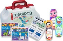 Kids I.D. & Owwee First Aid & Safety Kits! Child ID Kits with Fingerprinting and our Fun Kids Owweee Kits for all your Child First Aid and Child Safety Needs!