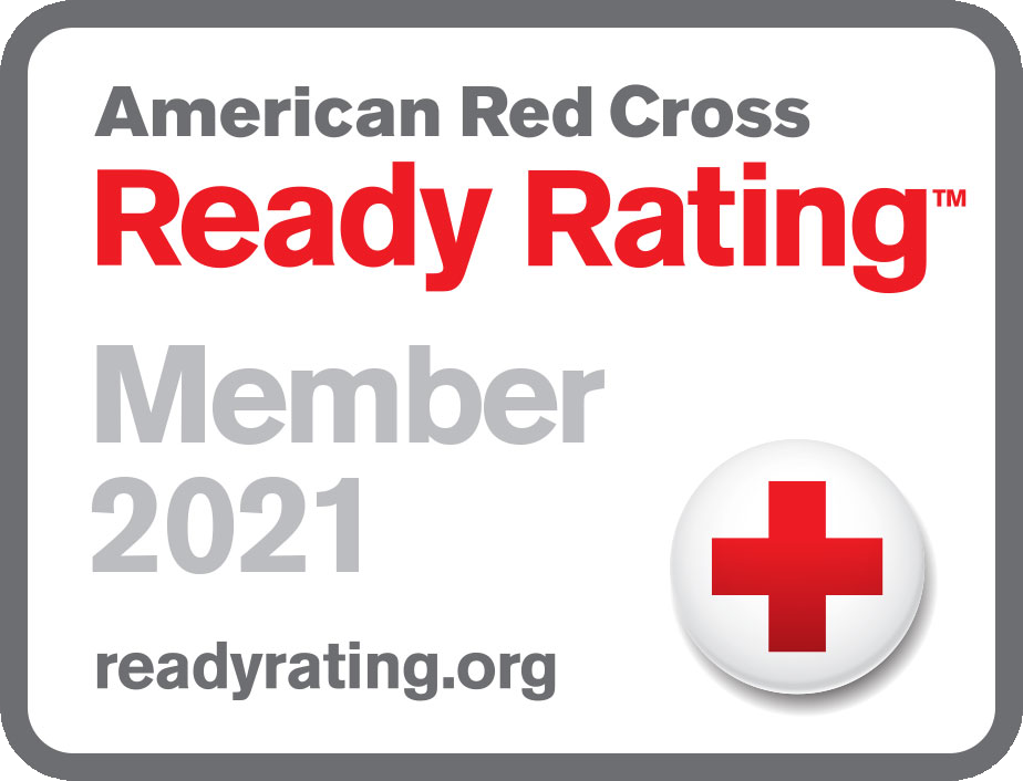 Image of American Red Cross Ready Rating™ Member 2021 Seal.