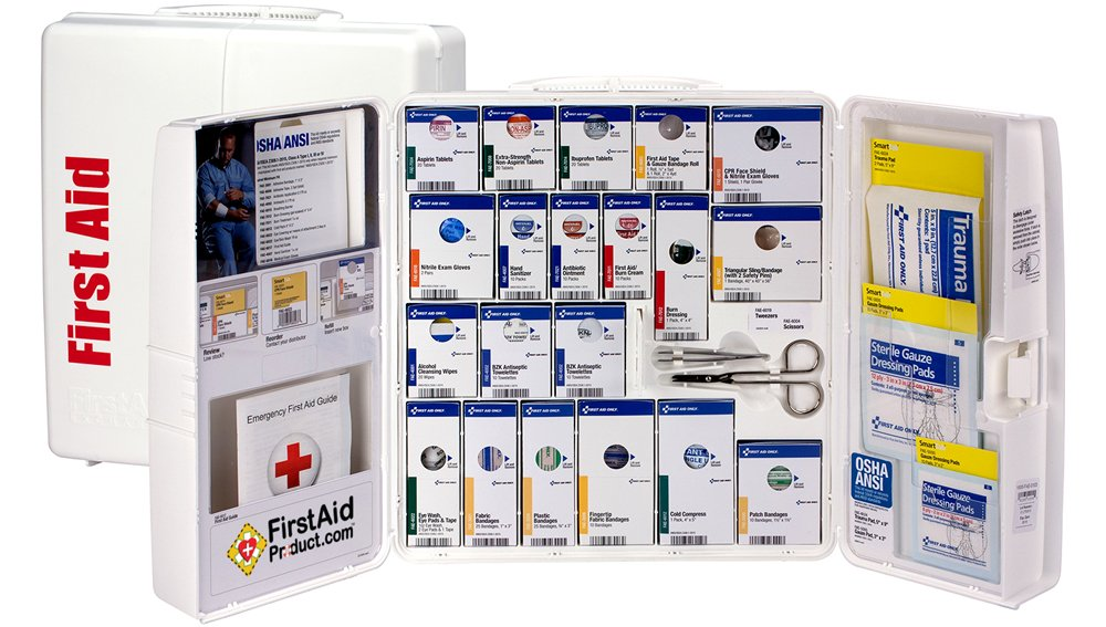 Image of SmartCompliance™ OSHA compliant first aid cabinet