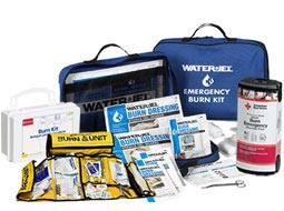 Image of Burn Emergency Responder Packs & Deluxe Burn Kits. S.T.A.R.T Burn Unit & BurnAid Burn Blanket Kit.