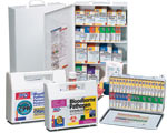 Image of industrial first aid kits and bussiness first aid supplies.