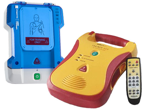 Image Of Prestan Professional Aed Trainer And Defibtech Complete Package