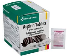 Image of Aspirin Tablets, 5 Grain - 100 per box