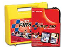 Image of two emergency auot first aid kits