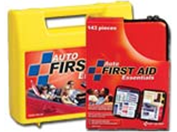 Various Auto First Aid Kits available in a plastic case with gasket and also available in soft packs. High Visibility Incident Unit.