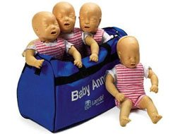 Image of Laerdal Baby Anne CPR Training Manikins 4-Pack