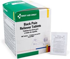 Image of Back Pain Reliever Tablets - 100 per box
