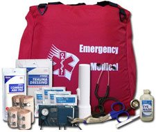 Image of Deluxe Trauma Kit - 303 Pieces - Soft Sided