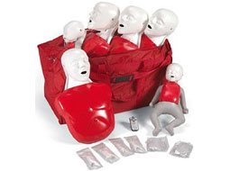 Image of Basic Buddy Convenience Pack: Four Basic Buddies, two Baby Buddies, lung installation tools, 40 Basic Buddy lung bags, 20 Baby Buddy lung bags, and carrying bag.