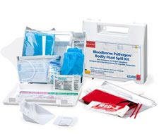 Image of Bloodborne Pathogen and Bodily Fluid Spill Kit