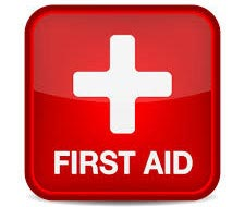 Graphic of a FIrst Aid Symbol denoting First Aid Resources