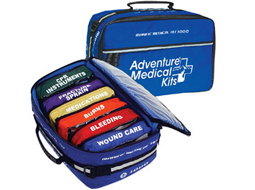 Marine First Aid Kits designed to meet the needs of boaters and marine activity enthusiasts! These US Coast Guards Approved kits  have everything necessary to meet the Coast Guards Strict Boat First Aid requirements, and best of all, like all the first aid kits and supplies, you do not pay retail... these kits are available at our Online Discount and Wholesale Direct Pricing!