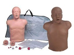 Image of two Brad Compact CPR Training Manikins