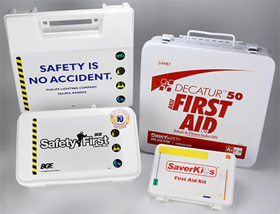 Image displaying a group of Ready Label Kits.
