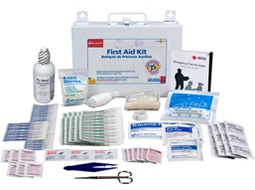OSHA Approved Large Bulk Kits available in 10 to 50+ Person Kits. General Workplace Cabinet and Refill Units.