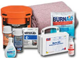 BurnAid Burn Relief & Burn Dressings. SmartTab EzRefill Water Jel & BurnAid Packs, First Aid Burn Creams.