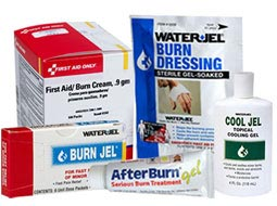 Burn Emergency Responder Packs & Deluxe Burn Kits. S.T.A.R.T Burn Unit & BurnAid Burn Blanket Kit.