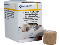 Image of Cohesive Elastic Bandage Wrap roll