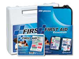 Image of 3 different all pupost first aid kits