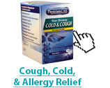 See all of our cold, cough, and allergy relief products.