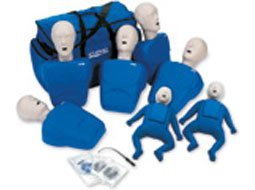 Image of CPR Prompt Tpak 700 7-pack adult and child training manikins