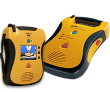 Image of Defibtech Lifeline View AED and Defibtech Lifeline AED with 7 year battery & warranty