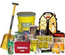Image of survival gear, disaster, emergency preparedeness & survival supplies.