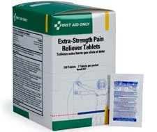 Image of Extra-Strength Pain Reliever Tablets - 250 per box