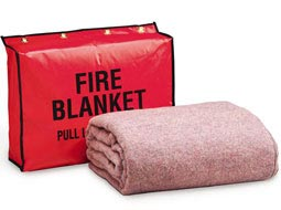 Fire Retardant Blanket with and without Vinyl bag.