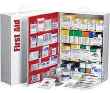 Image of first aid kit cabinet.