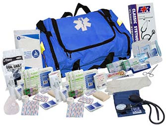 Image of Blue 151 Piece First Responder Kit