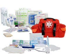 Image of Orange 147 Piece On Call First Responder Kit