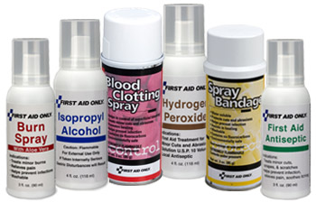 Image of Isopropyl Alcohol Pump Spray, Hydrogen Peroxide Pump Spray, Antiseptic & Cold Spray in Aerosol.