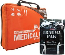 Image of Adventure Medical Steelhead Sportsman Kit and Trauma Pak with QuikClot
