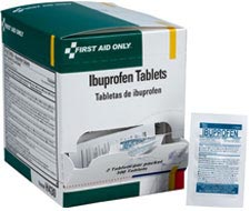Image displaying box of Ibuprofen Tablets.