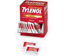 Image of Extra-Strength Tylenol - 100 per box