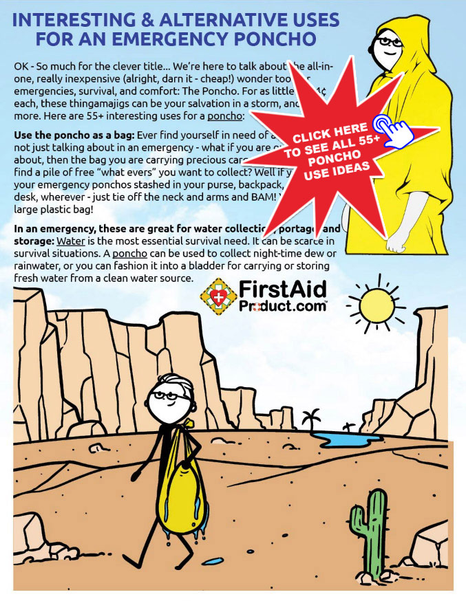 First-Aid-Product com: Interesting and Alternative Uses for