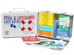 Image of Swimming Pool & Lifeguard First Aid Kit - Metal