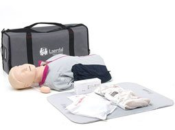 Image of Laerdal Resusci Anne Modular Torso Basic CPR Training Manikins w/ Hard Case.