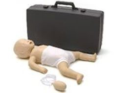 Image of Resusci Baby First Aid with case.