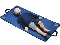 Image of Laerdal Resusci Junior CPR Training Manikin with Hard Case.