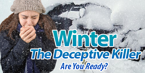 Severe weather winter safety tips and preparedness