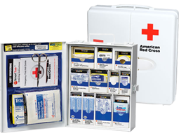 SmartCompliance is the only first aid solution that guarantees OSHA compliance. This is the first product that goes beyond supplies and provides peace of mind. Simply register your cabinet and use the SmartTab ezRefill System to maintain the guarantee. Additionally, should OSHA regulations change for your industry, the product will be made available to ensure compliance.